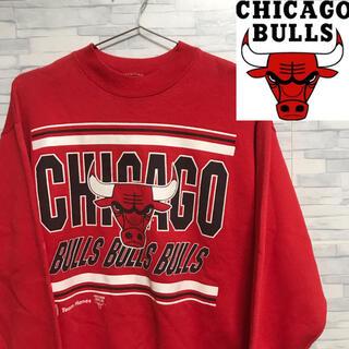Hanes - vintage 90's CHICAGO BULLS スウェット Hanes L