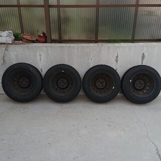 グッドイヤー(Goodyear)のスタッドレス ホイール 4本セット 175/70R14(タイヤ・ホイールセット)