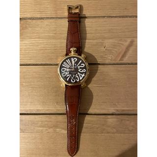 ガガミラノ(GaGa MILANO)のガガミラノ メンズ マヌアーレ48(腕時計(アナログ))