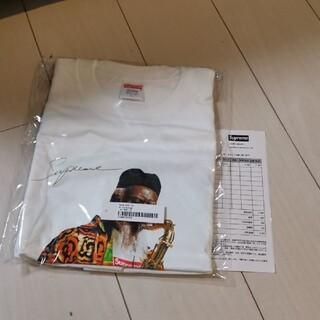 シュプリーム(Supreme)の送料込 Pharoah Sanders Tee ホワイト Lサイズ フォトT(Tシャツ/カットソー(半袖/袖なし))