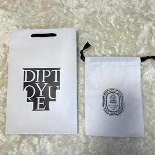 ディプティック(diptyque)の【非売品】Diptyque 巾着 紙袋(ポーチ)