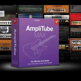 IK Multimedia AmpliTube MAX 正規品 ライセンス譲渡(DAWソフトウェア)