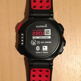 ガーミン(GARMIN)のGarmin(ガーミン) ForeAthlete 220J(腕時計(デジタル))