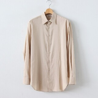 COMOLI - AURALEE 20SS SHUTTLE GEORGETTE CLOTH シャツ