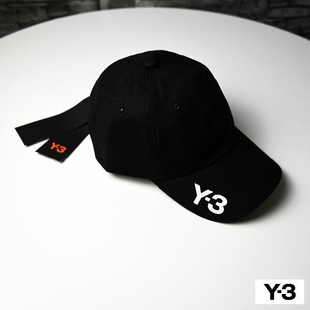 Y-3(ワイスリー)の新品 2020AW Y-3 ロゴキャップ CH1 CAP 黒 メンズの帽子(キャップ)の商品写真