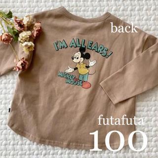 Disney - 新作❁*ミッキー 刺繍ポケットT100 futafuta