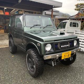 スズキ - JA11 ジムニー 5MT 車検付き全塗装リフトアップ