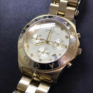 マークバイマークジェイコブス(MARC BY MARC JACOBS)のマークジェイコブス  腕時計 メンズ クロノグラフ  (腕時計(アナログ))