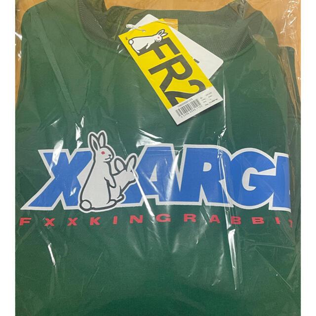 XLARGE(エクストララージ)のFR2 xlarge コラボ  logo crew sweat スウェット  メンズのトップス(スウェット)の商品写真