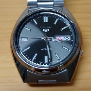 セイコー(SEIKO)のセイコー5 自動巻き グレー(腕時計(アナログ))