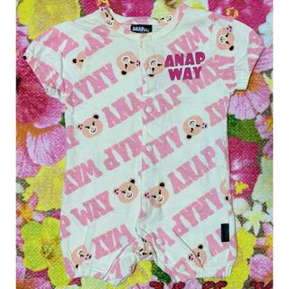 アナップキッズ(ANAP Kids)のANAP ANAPway ロンパ-ス 50-60(ロンパース)