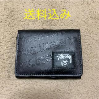 ステューシー(STUSSY)の《新品 未使用》STUSSY フェイクレザー ウォレット(折り財布)