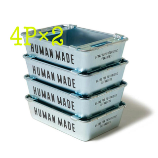 HUMAN MADE STEEL STACKING BOX 4P SET
