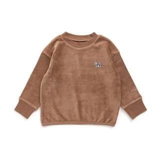 マーキーズ(MARKEY'S)のMARKEY'S☺︎オーシャン シマウマワッペンニットコールスウェット(Tシャツ/カットソー)