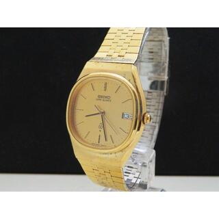 セイコー(SEIKO)のSEIKO LORD QUARTZ デイト ゴールド ヴィンテージ(腕時計(アナログ))