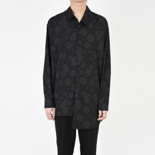 LAD MUSICIAN - [LAD MUSICIAN] 18AW BROAD ROSE MIX SHIRT
