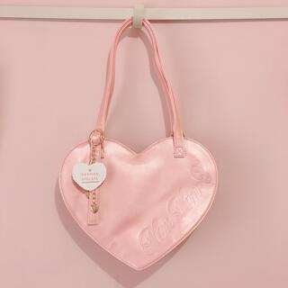 アンジェリックプリティー(Angelic Pretty)のNanNanS Pancak ハートバグ ゴールドピンク色(トートバッグ)