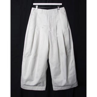 """COMME des GARCONS HOMME PLUS - SHINYAKOZUKA """"BAGGY WITH DICKIES""""  SNOW"""