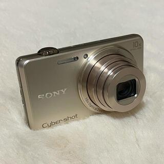 ソニー(SONY)のSONY サイバーショット DSC-WX220 ゴールド 64GB SD付き(コンパクトデジタルカメラ)