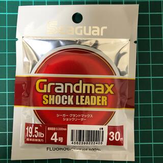 シーガー グランドマックス ショックリーダー 4号 30m