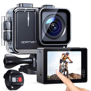 ゴープロ(GoPro)の進化版4K/50FPS  APEMAN A100アクションカメラ 2000万画素(ビデオカメラ)