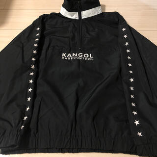 FRAGMENT - 別注 美品 KANGOL × BASECONTROL プルオーバーパーカー