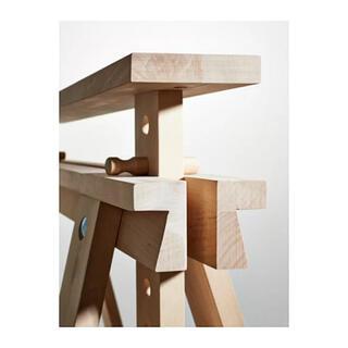 イケア(IKEA)のIKEA FINNVARD フィンバルド テーブル脚(ダイニングテーブル)
