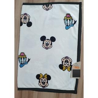ディズニー(Disney)のディズニー レトロミッキー ブランケット ひざかけ  毛布(おくるみ/ブランケット)