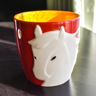 スターバックスコーヒー(Starbucks Coffee)の[美品][未使用]スターバックス 干支 馬 マグカップ(マグカップ)