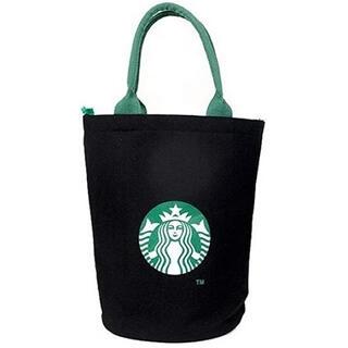 スターバックスコーヒー(Starbucks Coffee)のスターバックス 新品 ジッパー付きトートバッグ(エコバッグ)