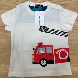 クレードスコープ(kladskap)の【新品】クレードスコープ  Tシャツ 消防車 くま 80(Tシャツ)