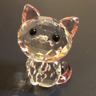 スワロフスキー(SWAROVSKI)の⭐︎スワロフスキー Kitten Millie(アメリカンショートヘア)⭐︎(ガラス)