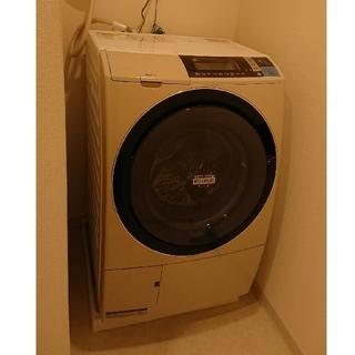 ヒタチ(日立)のHITACHI ドラム式洗濯乾燥機 洗濯10kg 乾燥6kg ライトベージュ(洗濯機)