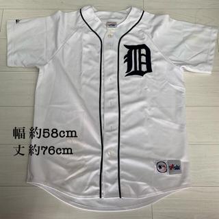 マジェスティック(Majestic)の2000年代初頭 MLB レトロ商品 デトロイトタイガース ユニフォーム(ウェア)