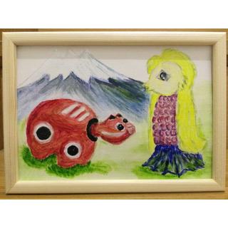 油彩画 えみちゃん🍁プロフ見てね様オーダー品(絵画/タペストリー)