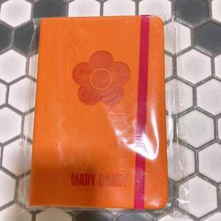 マリークワント(MARY QUANT)のマリークワント ノベルティ ハードカバーノート(ノート/メモ帳/ふせん)
