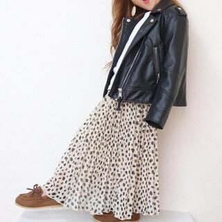 ZARA KIDS - 子供 キッズ ダルメシアンスカート ダルメシアン柄 牛柄 プリーツスカート