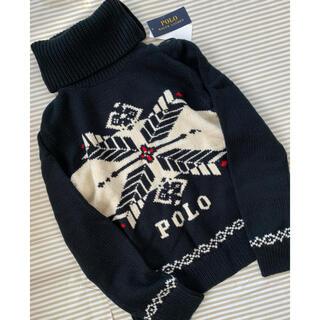ラルフローレン(Ralph Lauren)の新品 ラルフローレン セーター  タートルネックレディースM(ニット)