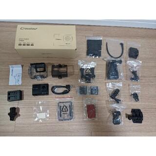ゴープロ(GoPro)のCrosstourアクションカメラ 4KCT9500 オプション付き(コンパクトデジタルカメラ)