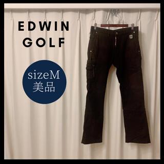 エドウィン(EDWIN)の美品 EDWIN GOLF カーゴパンツ メンズ(ウエア)
