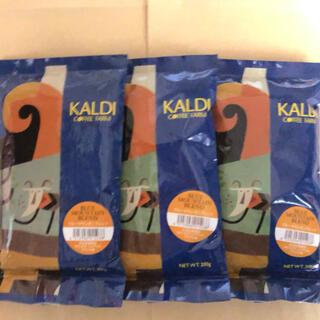 カルディ(KALDI)のカルディ コーヒー ブルーマウンテンブレンド 3袋セット 中挽(コーヒー)