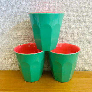 GINGER コップ ×3(グラス/カップ)
