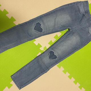 美品★ H&M leggings&denim 120