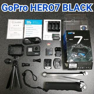 ゴープロ(GoPro)の【美品・お得セット】GoPro HERO7 BLACK✨(ビデオカメラ)
