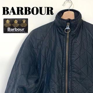 バーブァー(Barbour)のBabour バブアー キルティング オイルドジャケット Sサイズ ブラック(ブルゾン)
