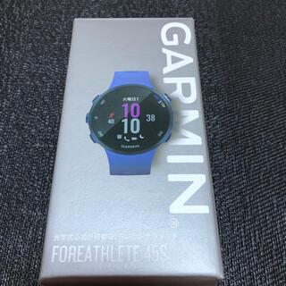 ガーミン(GARMIN)のGarmin ガーミン FOREARHLETE 45S ランニングウォッチ (その他)