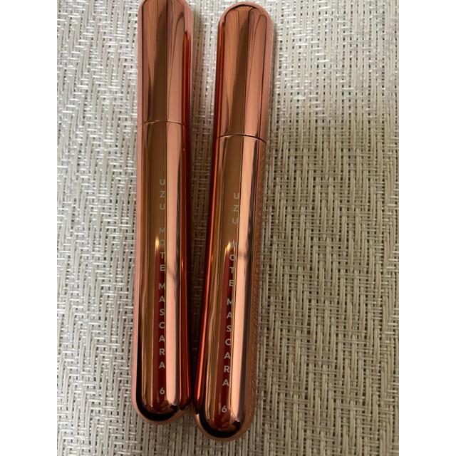 FLOWFUSHI(フローフシ)のUZU モテマスカラ6  2本セット コスメ/美容のベースメイク/化粧品(マスカラ)の商品写真