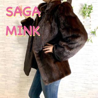 フォクシー(FOXEY)の【着画】SAGAMINK サガミンク ゴールドタグ ファーコート  No.624(毛皮/ファーコート)
