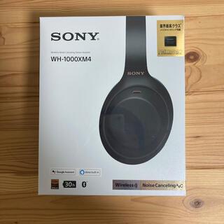 ソニー(SONY)のソニー SONY WH-1000XM4 B (ヘッドフォン/イヤフォン)