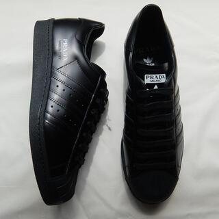 プラダ(PRADA)のprada adidas superstar ブラック 27cm(スニーカー)